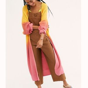 Free people come together cardi